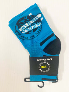 Trick or Trail Socks Blue