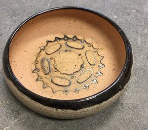 Locally Made Bike Pottery