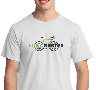 Lung Buster Time Trials Lime Green/Black Logo Men's & Womens