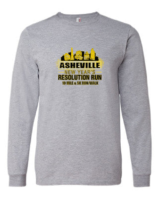 2020 New Year's Resolution Run Shirt (long sleeve)