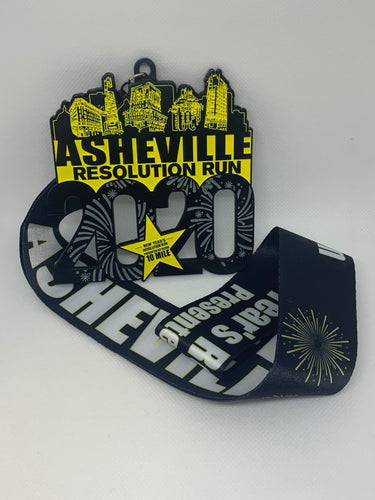 New Year's Resolution Run 10 Mile 2020 Medal Awards