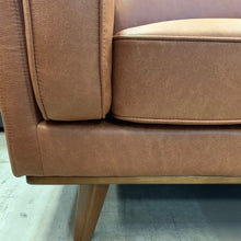Load image into Gallery viewer, Dahlia RHF 3 Seat with Chaise - Soft Tan fabric