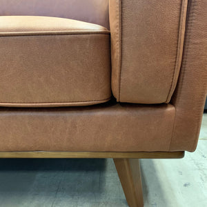 Dahlia LHF 3 Seat with Chaise - Soft Tan fabric (SOLD OUT- STOCK DUE MID FEBRUARY)