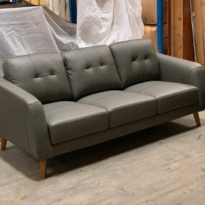 Darlinghurst 3 seater + 2 seater Leather - Storm (SOLD OUT- STOCK DUE MID FEBRUARY)