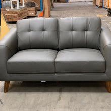 Load image into Gallery viewer, Darlinghurst 3 seater + 2 seater Leather - Storm (SOLD OUT- STOCK DUE MID FEBRUARY)