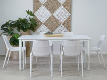 Load image into Gallery viewer, Fountana Outdoor Aluminium Table 210cm x 95cm - White