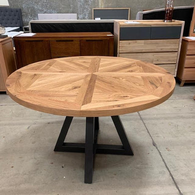 Indus Round Table - 125cm - (SOLD OUT- STOCK DUE END JUNE)