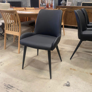 Arya 7 Piece Suite - Norway Black Chairs