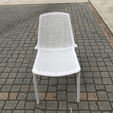 Cafe Outdoor Chair White