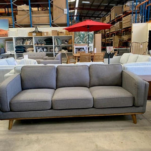 Dahlia 3+2 Seat Sofa - Dark Grey