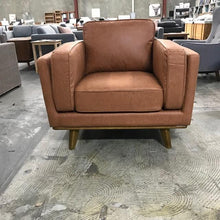 Load image into Gallery viewer, Dahlia Sofa Chair Soft Tan