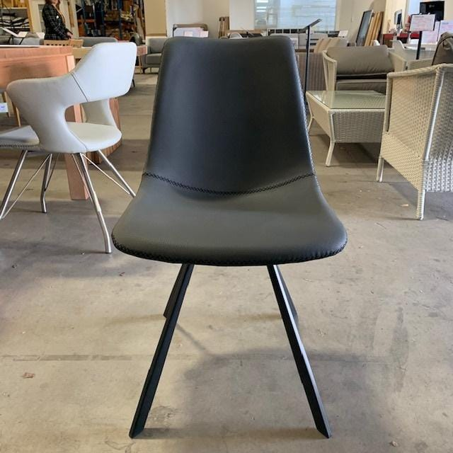 Hilton Chair - Grey PU (SOLD OUT-STOCK DUE MID FEBRUARY)