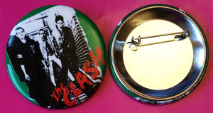 The Clash - The Clash LP Cover Metal Badge 55mm New