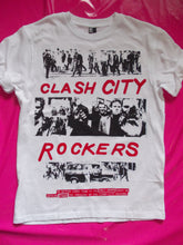 Load image into Gallery viewer, The Clash - Clash City Rockers Punk T-Shirt