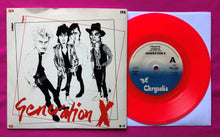 Load image into Gallery viewer, Generation X - Friday's Angels Red Vinyl Single on Chrysalis Records