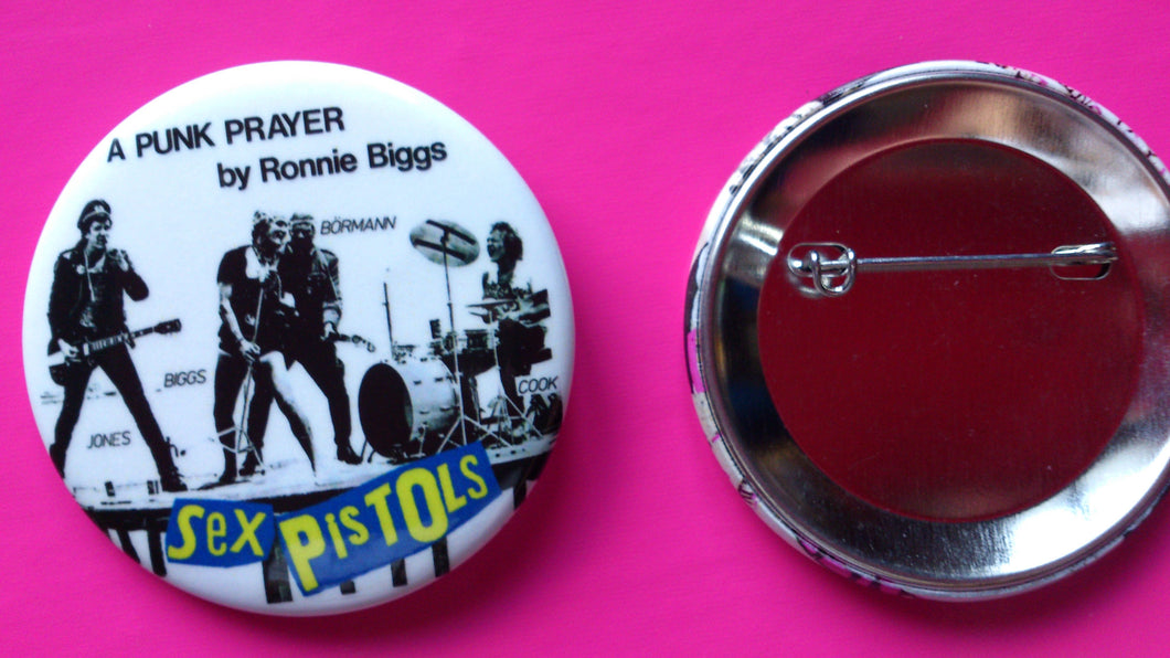 Sex Pistols - Punk Prayer Metal Punk Rock Badge
