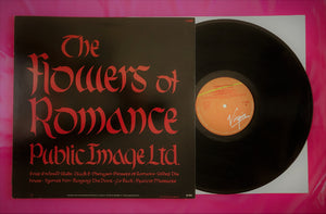 Public Image Limited - Flowers of Romance LP 1981 Finnish Pressing
