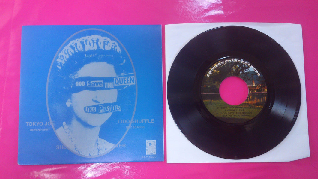 Sex Pistols - God Save The Queen Reproduction Thai EP