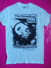 Load image into Gallery viewer, Snivelling Shits - Terminal stupid. Punk Rock T-Shirt