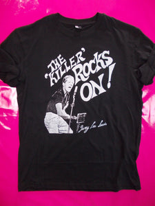 The Killer Rocks On - Jerry Lee Lewis / Let it Rock T-Shirt