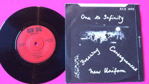 The Outsiders - One To Infinity EP Raw Edge Records 1977