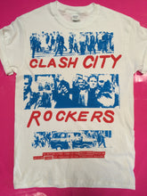 Load image into Gallery viewer, The Clash - Clash City Rockers Punk T-Shirt Blue Print