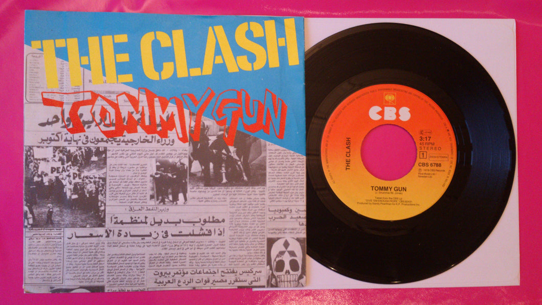 The Clash - Tommy Gun / 1-2 Crush On You Dutch Pressing