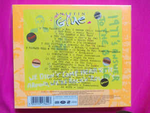 Sniffin' Glue Punk Rock Compilation CD with booklet