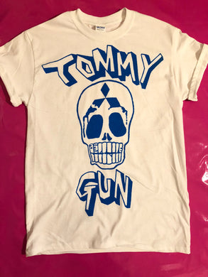 The Clash - Tommy Gun Skull Print Punk Rock T-Shirt