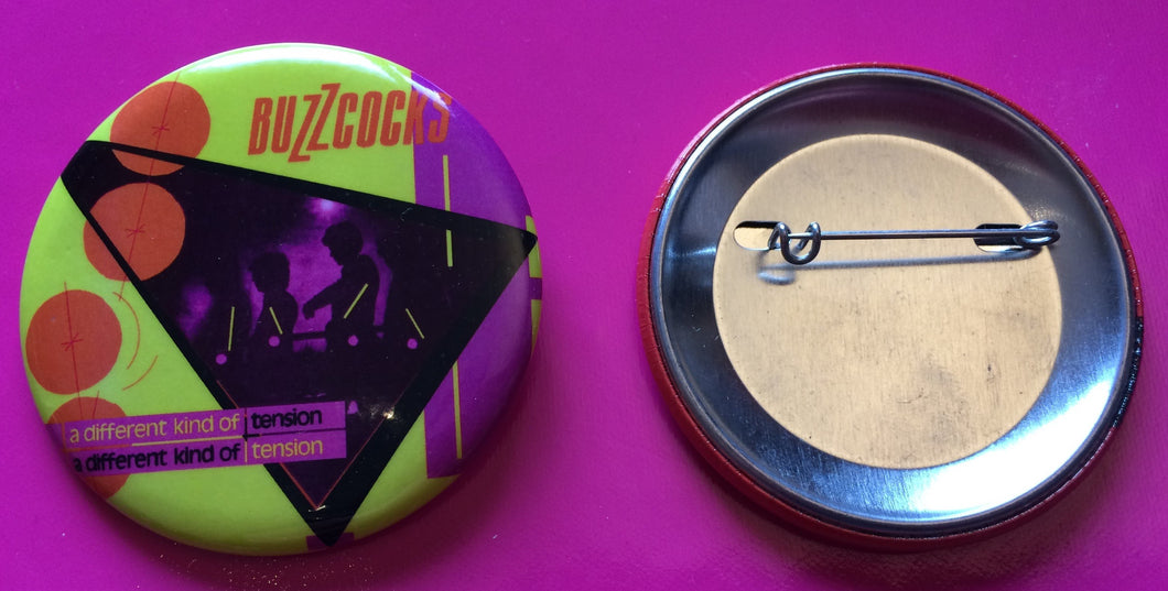 Buzzcocks - Different Kind Of Tension New 55mm Metal Badge