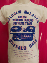 Load image into Gallery viewer, Malcolm McLaren Buffalo Girls / World's Famous white T-Shirt