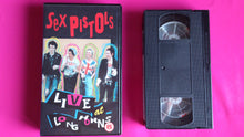 Load image into Gallery viewer, Sex Pistols - Live at Longhorn Ballroom 1978 VHS promo  video