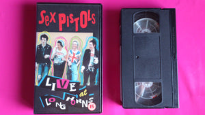 Sex Pistols - Live at Longhorn Ballroom 1978 VHS promo  video