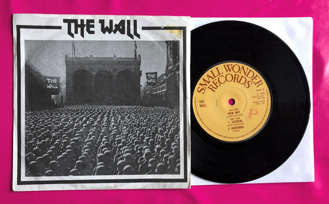 The Wall - New Way Punk Single on Small Wonder Records