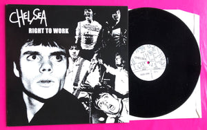 Chelsea - Right to Work Demo / Session / Single Bootleg Comp