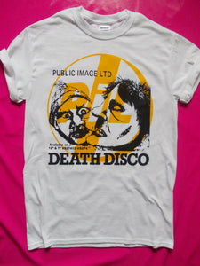 P.I.L Public Image Ltd - Death Disco White Punk T-Shirt