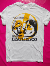 Load image into Gallery viewer, P.I.L Public Image Ltd - Death Disco White Punk T-Shirt