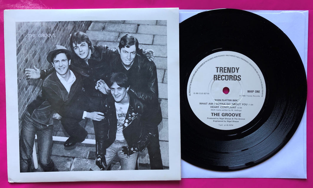 The Groove - I Wanna Be Your Pigmy Rare Punk Single 1980