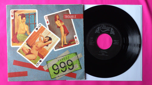 999 - Trouble / Made A Fool Of You Norwegian Pressing Albion Records