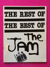 Load image into Gallery viewer, The Jam - The Rest Of The Best Of Song / Music book