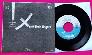 Stiff Little Fingers - Just Fade Away Swedish Pressing From 1981
