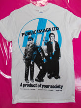 Load image into Gallery viewer, Public Image Ltd / PIL - Product of your society punk T-Shirt