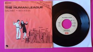 "Human League - Being Boiled 7"" Single German Press From 1982"