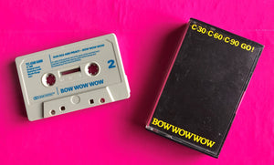 Bow Wow Wow - C30 C60 C90 Go! Original Cassette Single From 1980