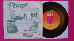 The Clash - White Riot Dutch Pressing on CBS From 1977