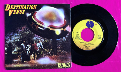 The Rezillos - Destination Venus Norwegian Pressing Sire Records 1979