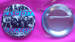 The Clash - Clash City Rockers large badge 56mm
