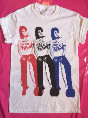 Joan Jett Of Runaways In Sex Pistols Tee Punk T-Shirt