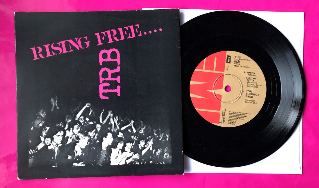 TRB - Rising Free EP Swedish ncb Pressing on EMI From 1978