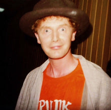 Load image into Gallery viewer, Malcolm McLaren - Punk It Up / Duck Rock White T-Shirt